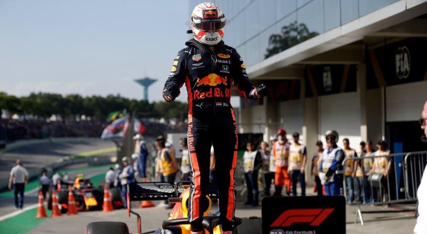O piloto holandês foi o mais rápido no Brasil