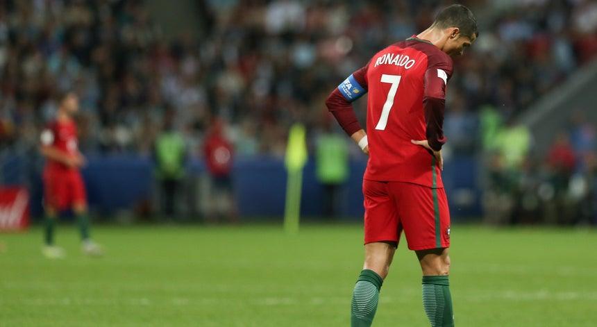 8657bc27bc411 Cristiano Ronaldo dispensado da seleção portuguesa - Taça das ...
