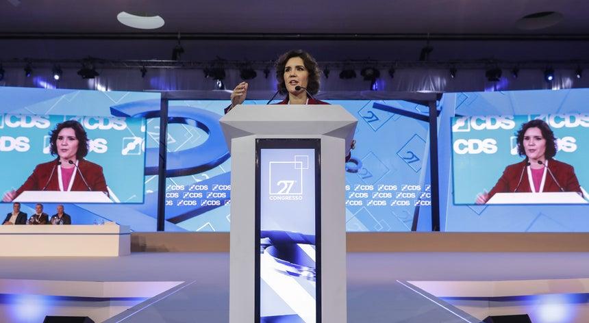 Congresso do CDS-PP. Cristas propõe-se liderar o centro e a direita