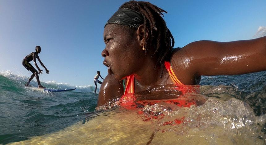 """""""Quando estou na água sinto algo extraordinário, algo especial no meu coração"""""""