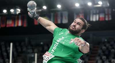 Francisco Belo ganha ouro no lançamento do peso do meeting de Savona
