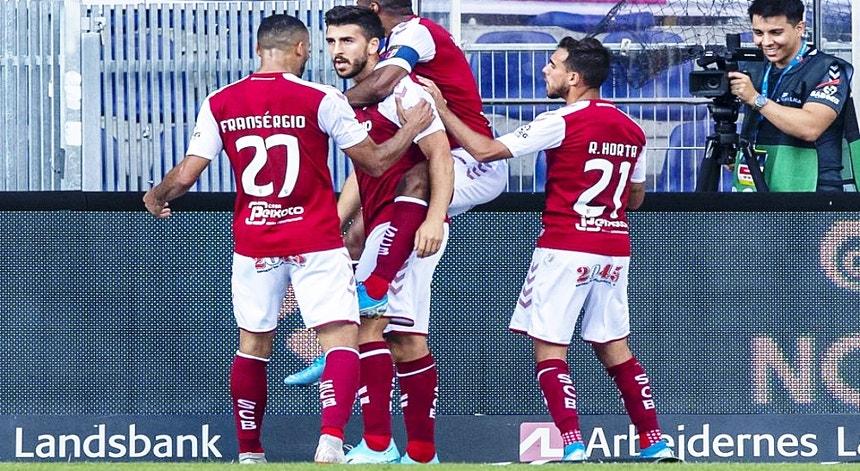 O Sporting de Braga está apostado em repetir a vitória alcançada na Dinamarca