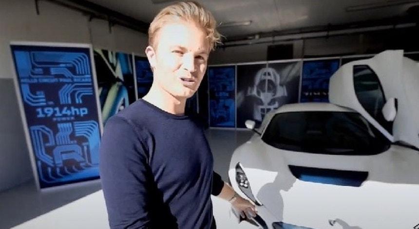 Nico Rosberg vai pilotar um carro elétrico