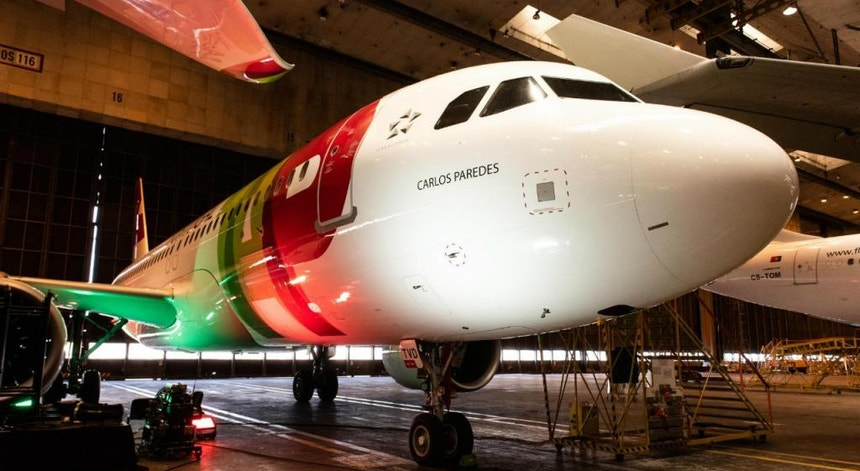 """A TAP pretende ativar o regime de """"lay-off"""" devido ao cancelamento de voos"""
