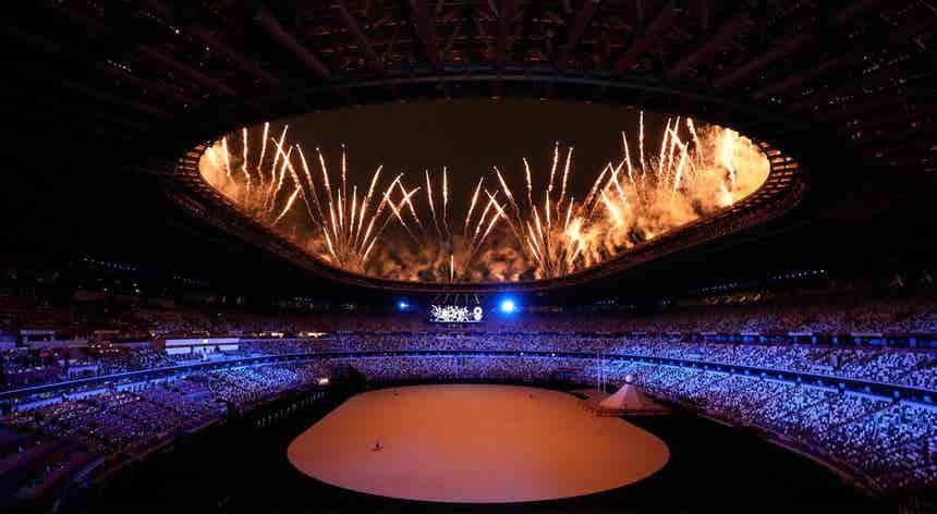 Jogos Olímpicos. A cerimónia de abertura acompanhada ao minuto