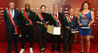 Jorge Fonseca e Fu Yu distinguidos nos prémios do Comité Olímpico