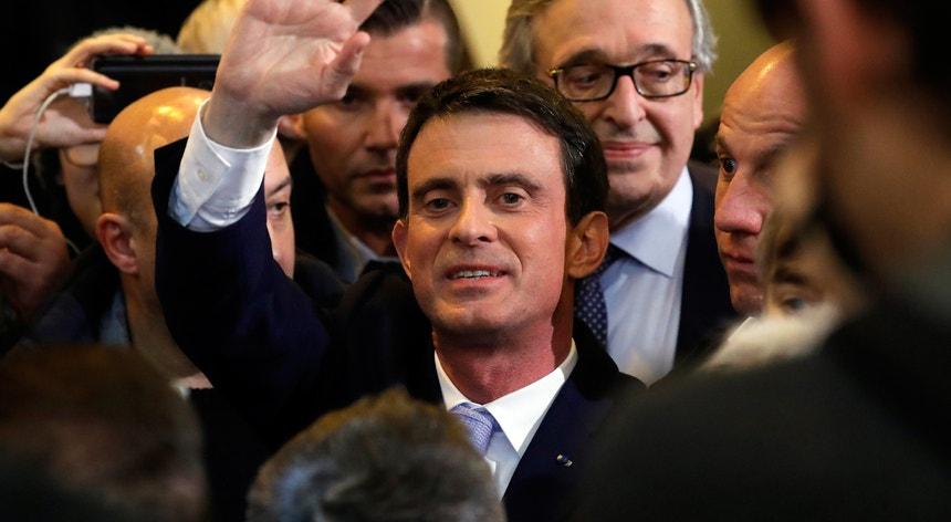Manuel Valls abandonou o cargo de primeiro-ministro para se candidatar às eleições presidenciais, mas não foi além das primárias do PS francês