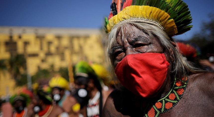 O protesto dos indígenas sobe de tom