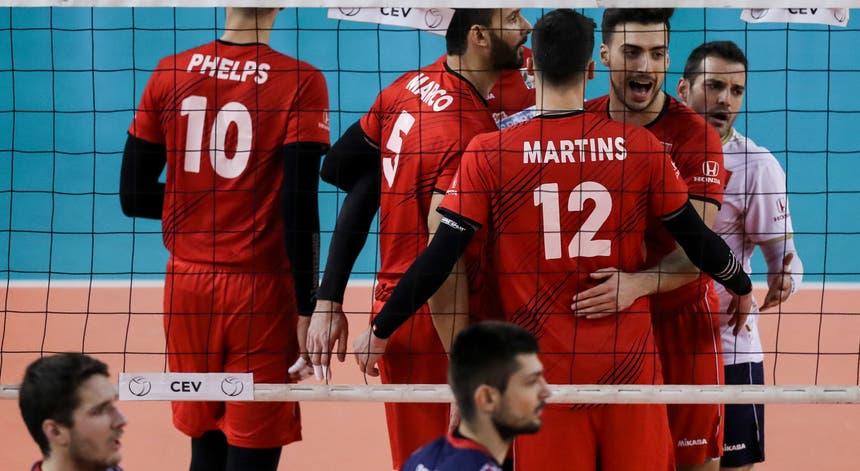 """A seleção portuguesa de voleibol conseguiu ultrapassar o """"seis"""" chileno"""