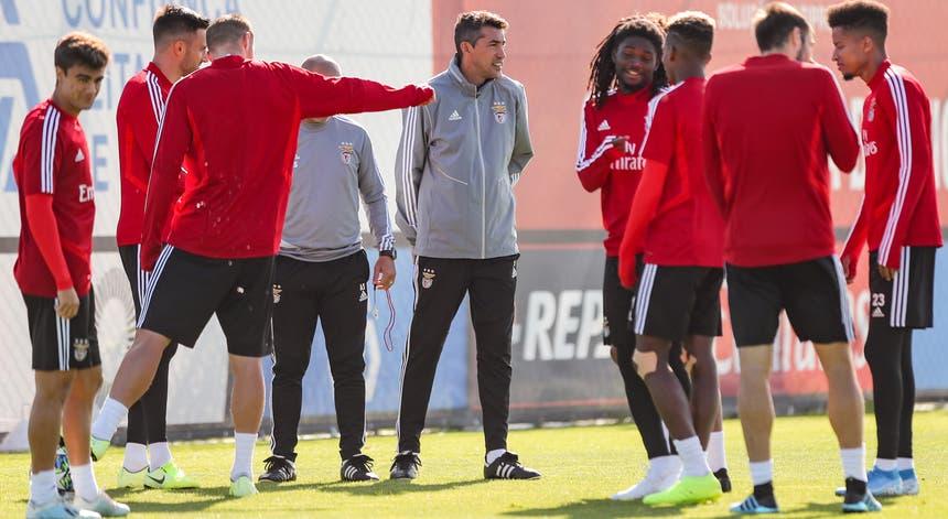 A equipa do Benfica preparou ao pormenor o jogo com o Lyon