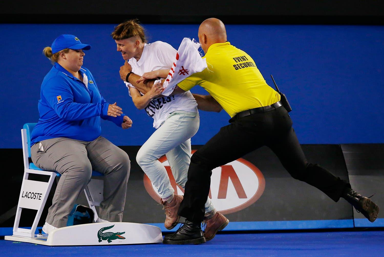Australian Open 2015 em Melbourne /Issei Kato - Reuters