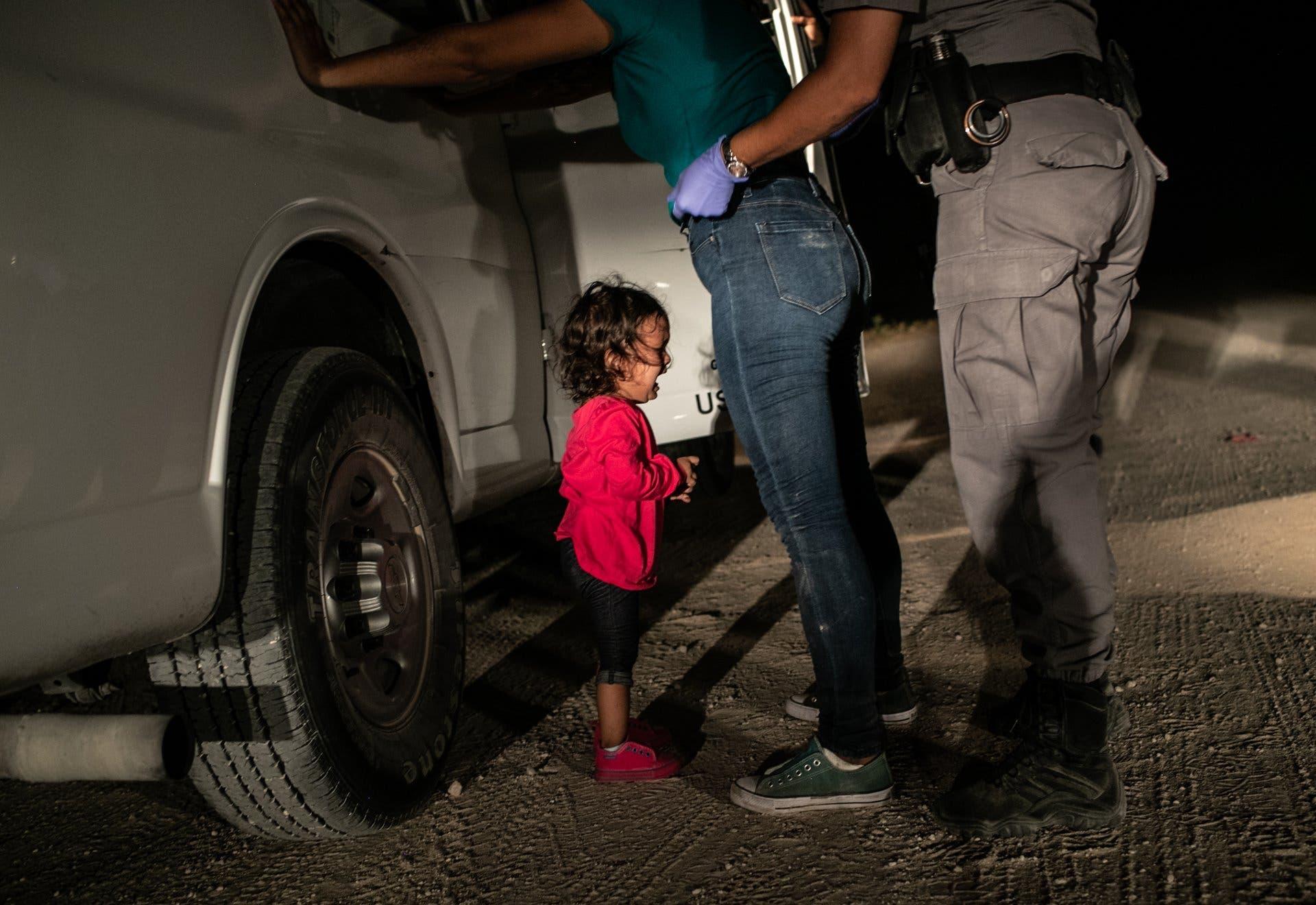 Spot News e Fotografia do Ano: John Moore - Getty Images