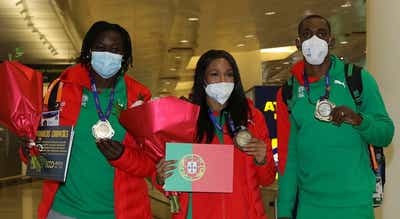 Atletismo. Seleção chega a Lisboa com medalhados do Europeu