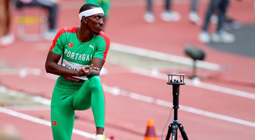 O atleta ganhou mas desejava fazer uma marca melhor