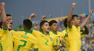 Brasil chega à sexta final do Mundial de sub-17