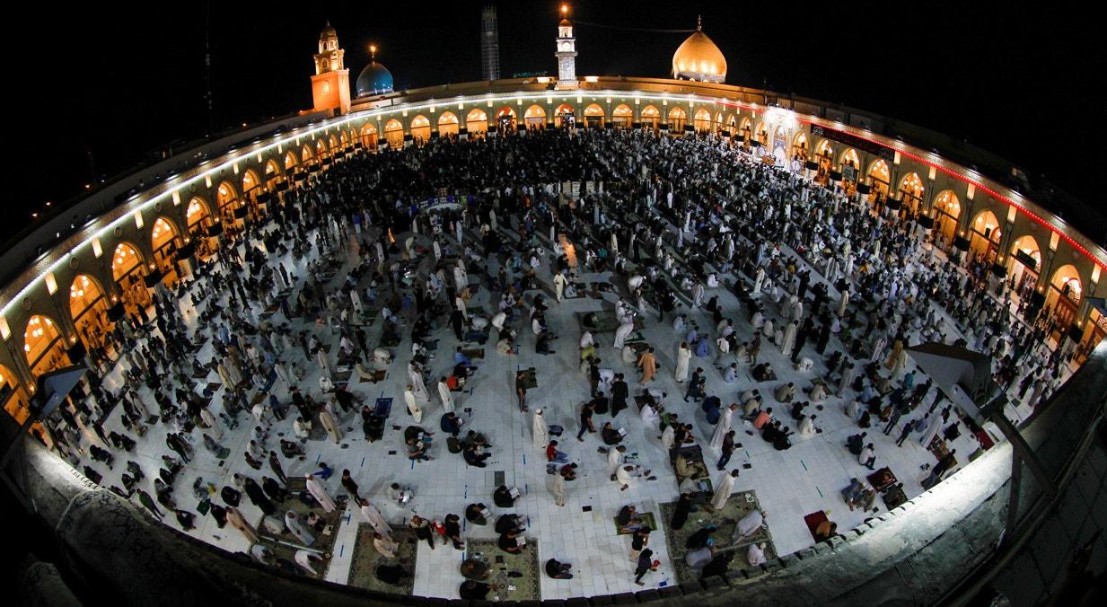 Iraque. Grande Mesquita na cidade de Najaf | Alaa Al-Marjani - Reuters