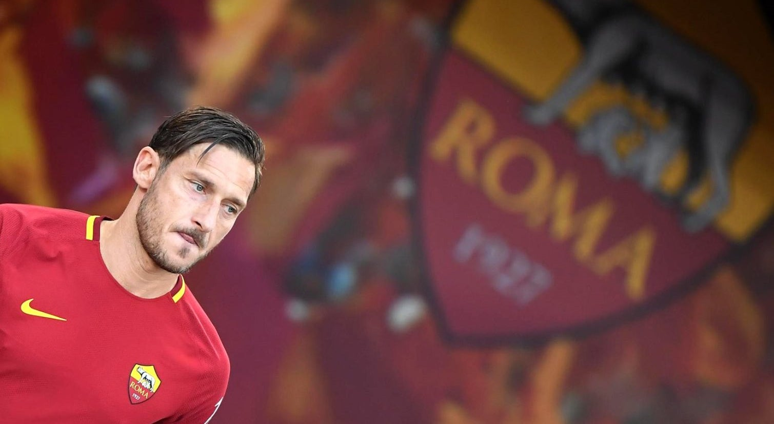 Francesco Totti assume cargo de diretor na AS Roma