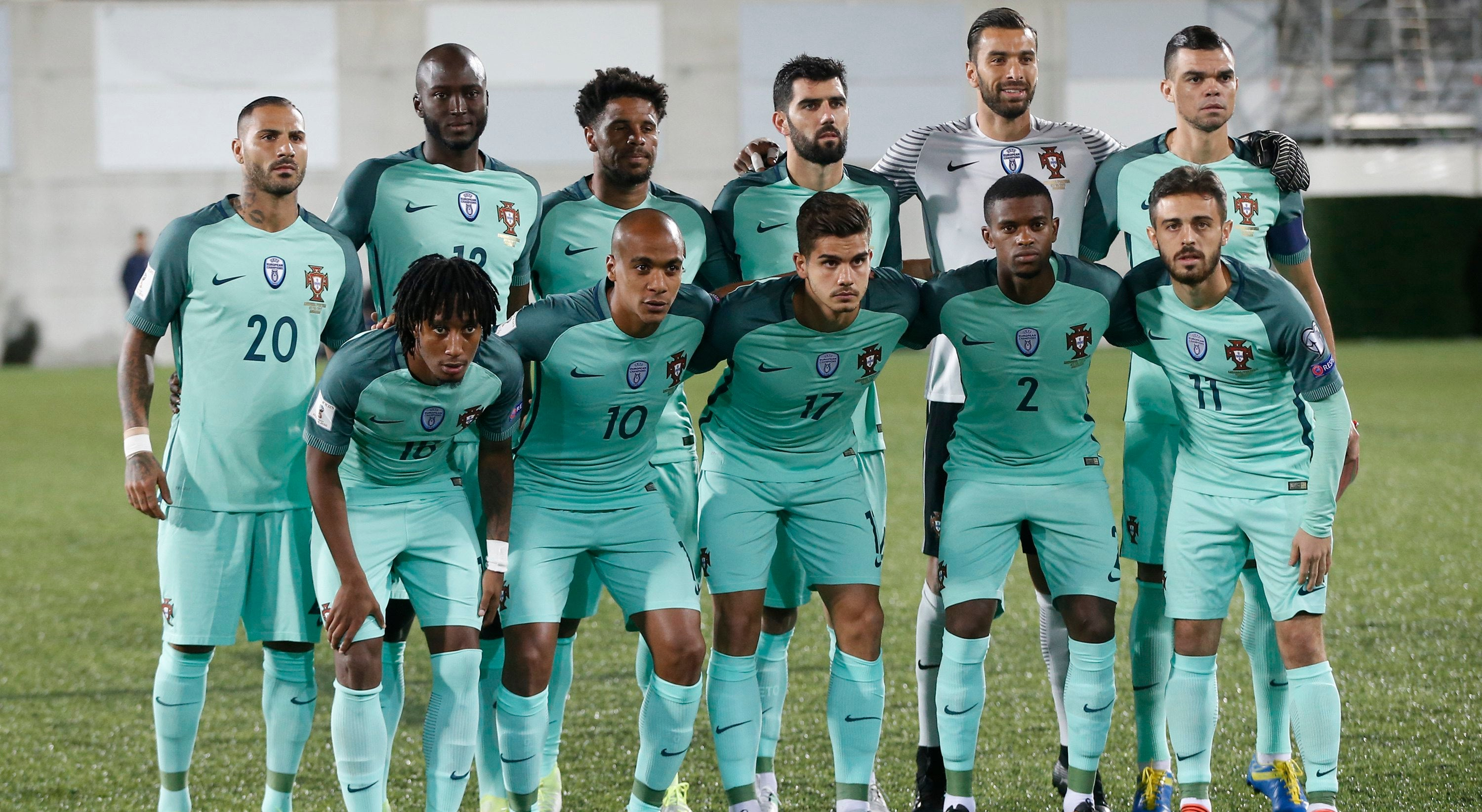 Portugal continua no terceiro lugar do ranking FIFA