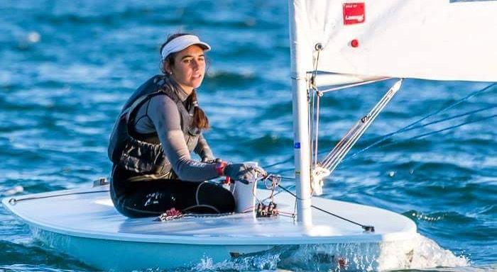 Carolina João terminou a prova de Laser Radial no 34.º lugar