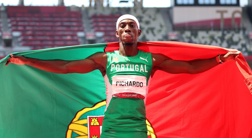 Pichardo pulou para a medalha de ouro e para o recorde nacional do triplo salto