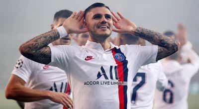 Mauro Icardi assina até 2024 com o Paris Saint-Germain