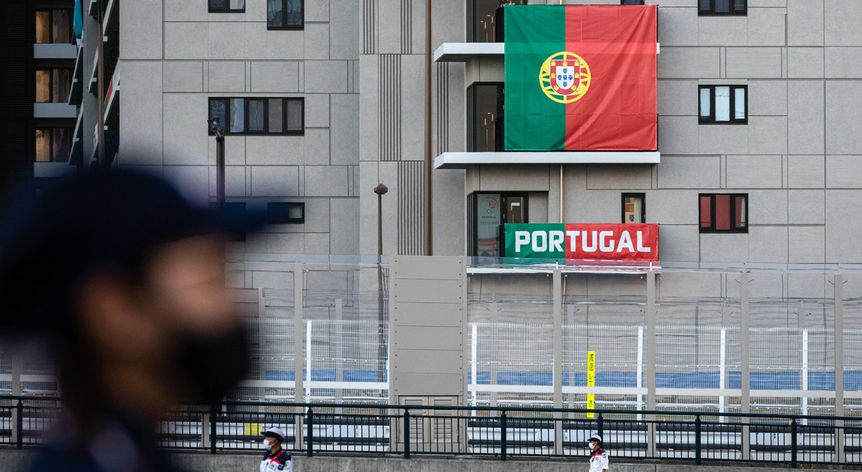 Atletas portugueses na Aldeia Olímpica   José Coelho - Lusa