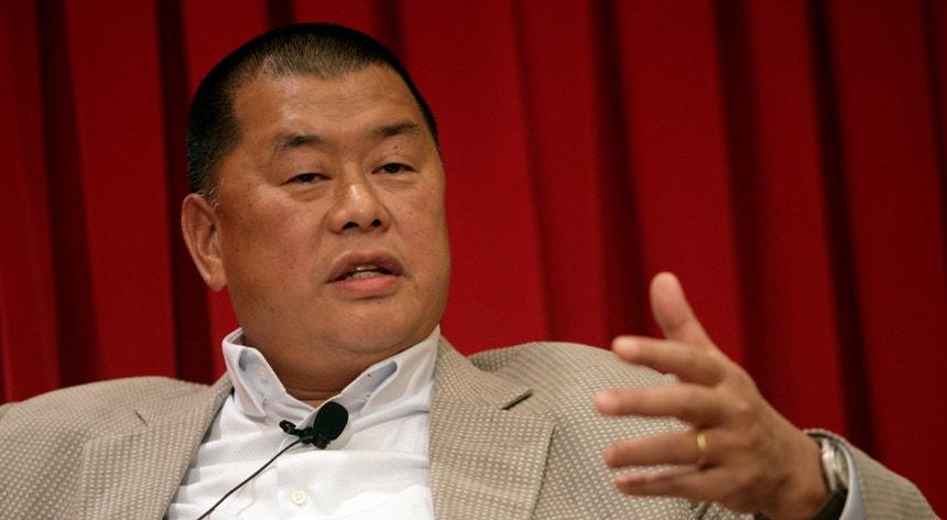 Jimmy Lai dirigia um grupo de comunicação social em Hong Kong