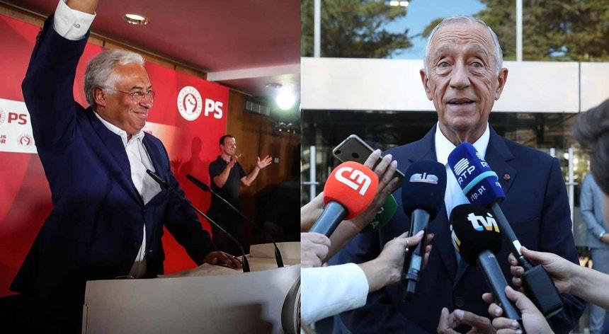 António Costa prepara negociações com partidos à esquerda. PR hoje hoje todos os partidos com assento parlamentar