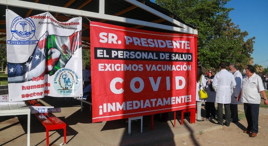 Mais proteção é o que pedem os profissionais de saúde mexicanos