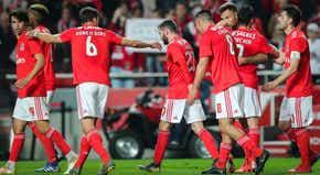 Benfica goleia e reduz distâncias para o FC Porto antes do Clássico 99f12cc77f699