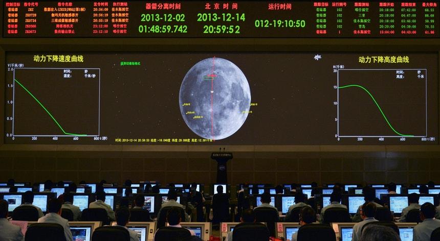 A missão espacial faz ainda parte da ambição chinesa iniciada nos anos 70