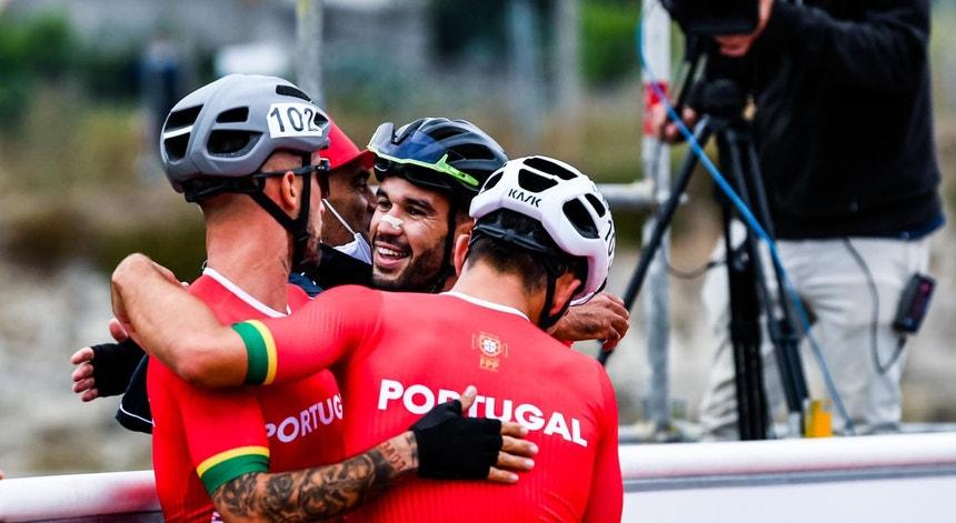 Os patinadores portugueses continuam em alta no Europeu de patinagem de velocidade