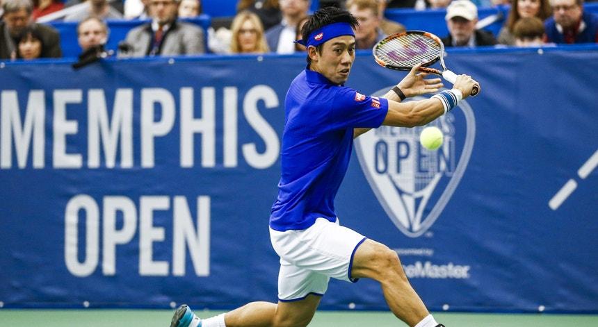 O tenista japonês reforça o quadro principal do Estoril Open