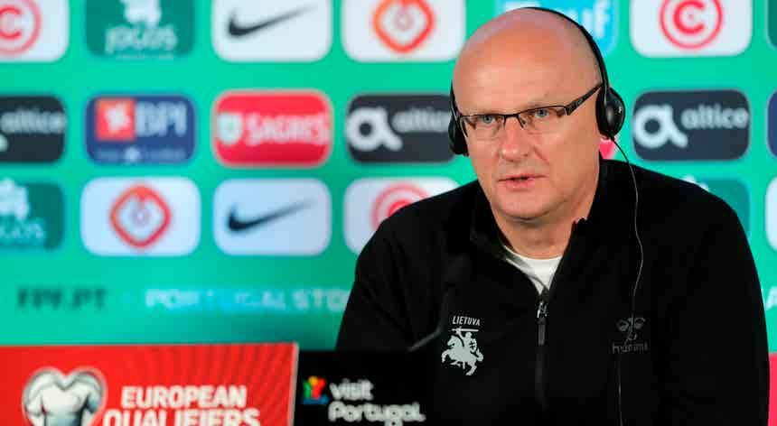 """Euro2020. Lituânia promete """"boa organização defensiva"""" para parar o campeão europeu"""