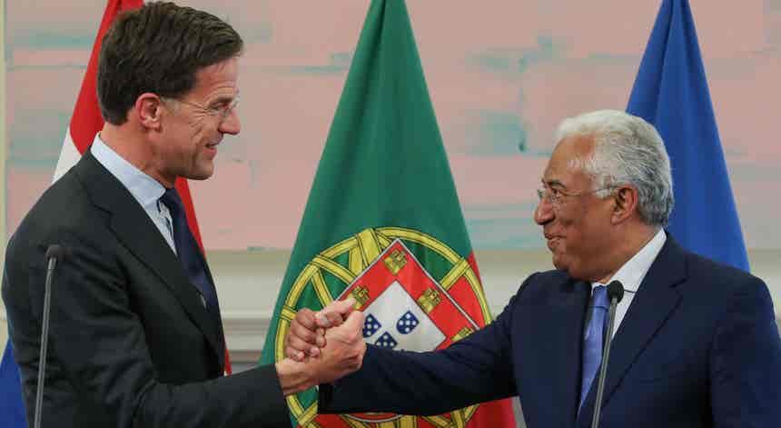Covid-19. António Costa debate com Mark Rutte plano de recuperação económica