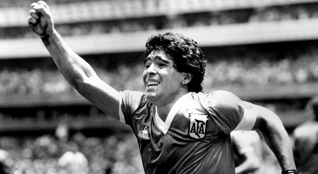 1986. Contra Inglaterra, vitória por 2-1   Ted Blackbrow - Reuters