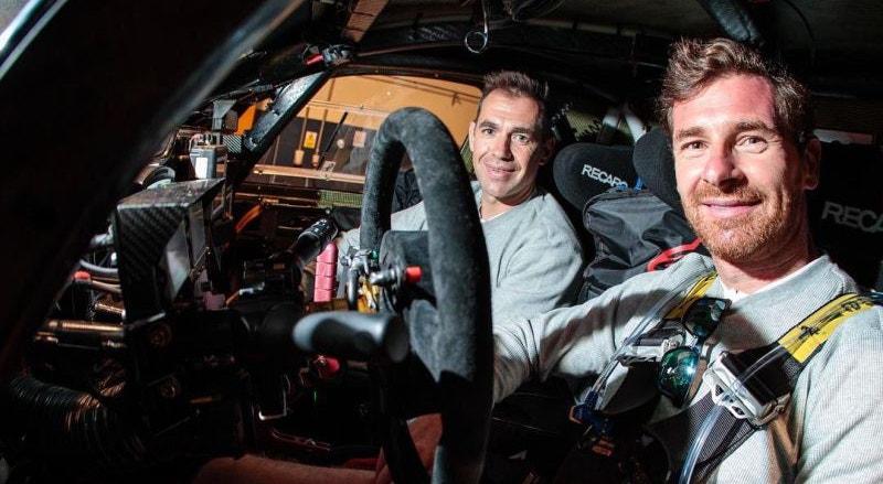 Villas-Boas aproveita as corridas de carros para ajudar quem precisa