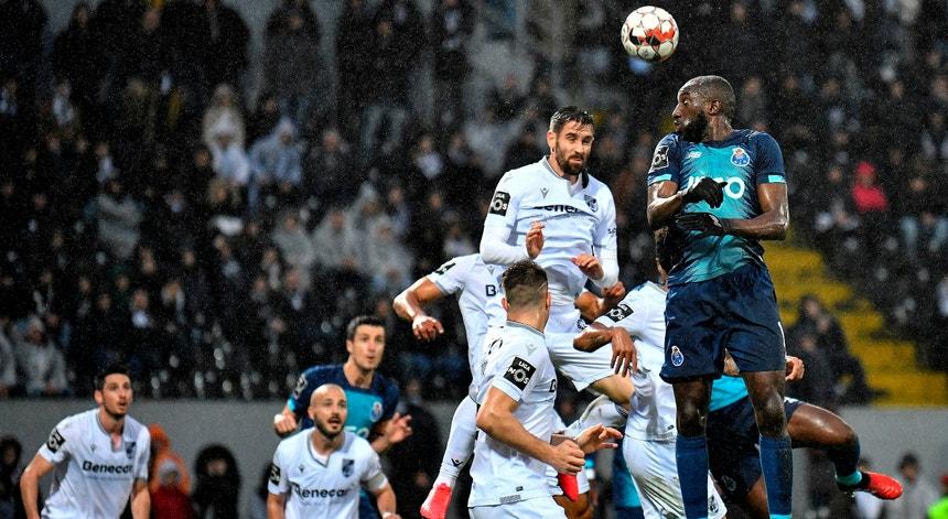 Moussa Marega foi a figura do jogo e não pelos melhores motivos