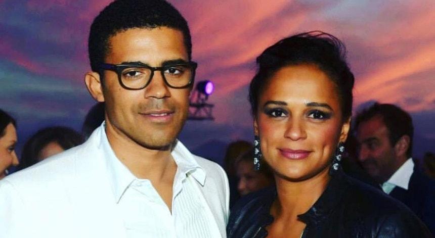 O empresário congolês publicou uma fotografia ao lado de Isabel dos Santos na sua página de Facebook, dia 14 de fevereiro de 2019