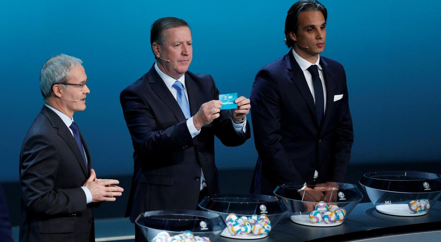 Resultado de imagem para Portugal com Ucrânia, Sérvia, Lituânia e Luxemburgo na qualificação para o Euro2020