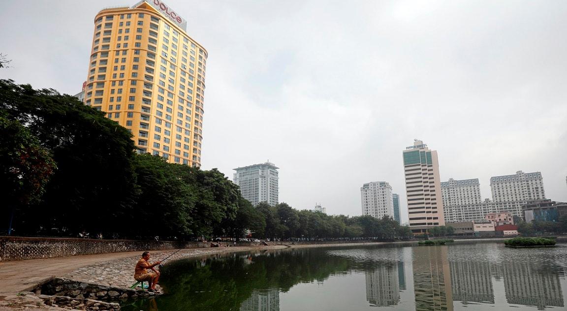 Hotel banhado a ouro   Luong Thai Linh - EPA