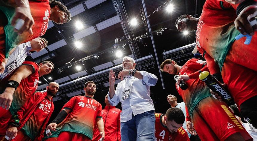 A seleção nacional prepara-se para discutir com a Noruega o primeiro lugar do Grupo D