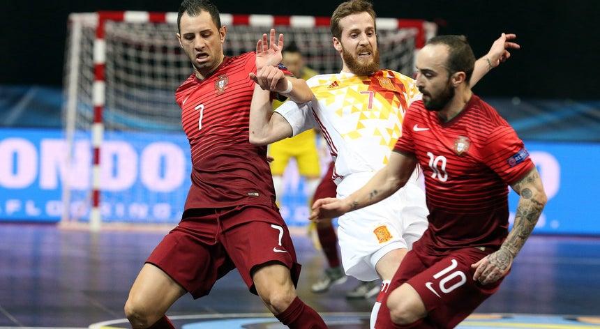 678ddd681af8c Portugal afastado do Europeu de futsal pela Espanha - Futsal ...