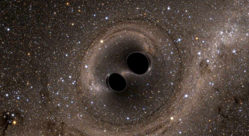 Cientistas admitem que o LB-1 possa ter sido criado por um conjunto de dois pequenos buracos negros que se juntaram
