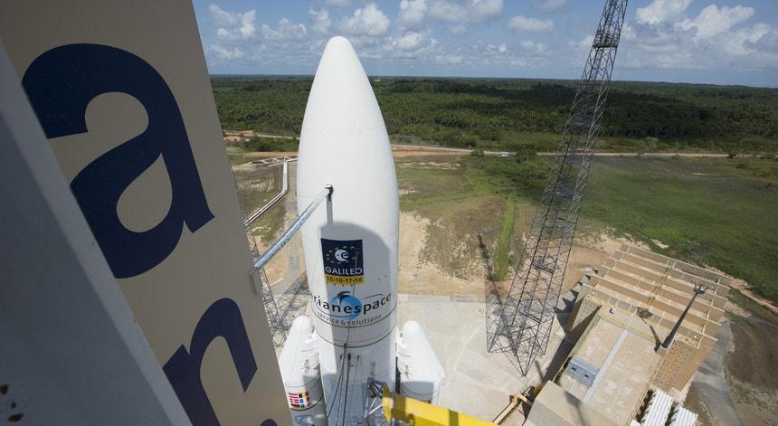 Parte do trabalho nas missões Ariane passam por mãos  portuguesas