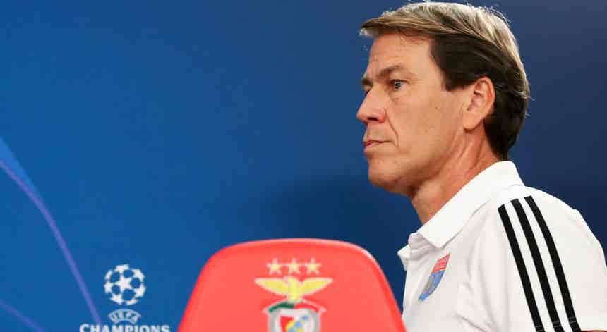 Liga dos Campeões. Rudi Garcia coloca pressão no Benfica e diz que está ?obrigado a ganhar?
