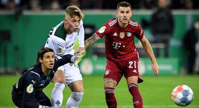 """Bayern humilhado na Taça da Alemanha pelo """"Gladbach"""""""