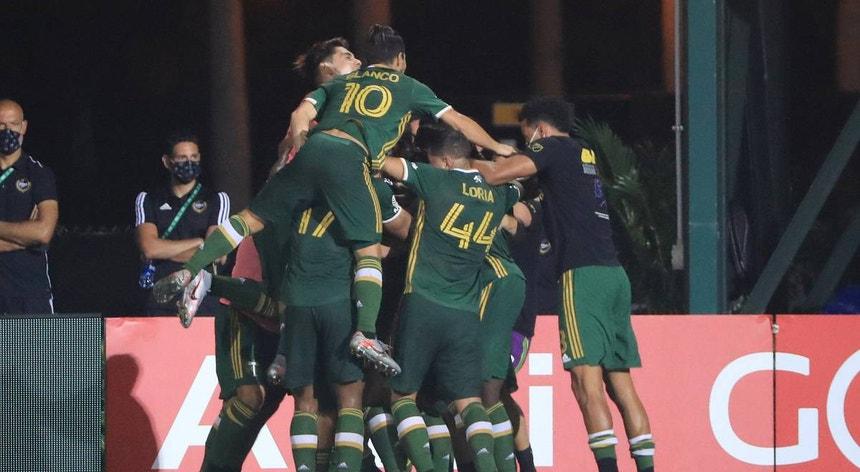 Os Portland Timbers conquistaram a MLS