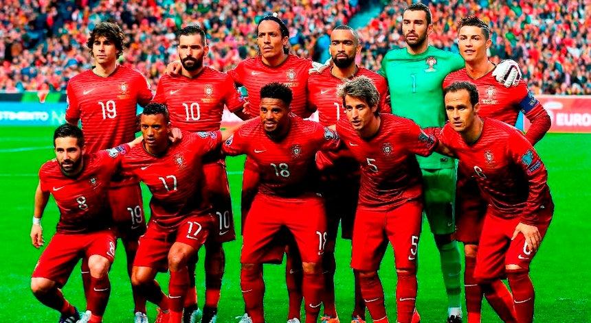 Seleção de Portugal favorita no Euro 2016. A seleção portuguesa ... 3b978267d9da0