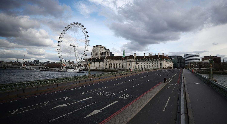 Ponte Westminster bridge em London, no Reino Unido / Hannah McKay - Reuters